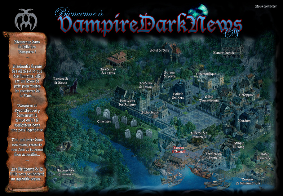 vampire dark news city